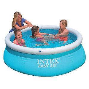 6ft Intex Easy Set Pool