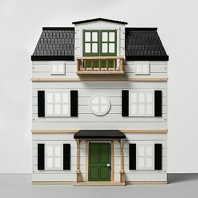 Wooden Dollhouse with Furniture - Hearth and Hand with Magnolia