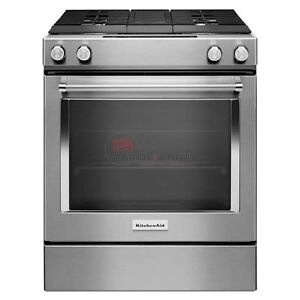 KITCHENAID RANGES SLIDE-IN DUAL-FUEL RANGE