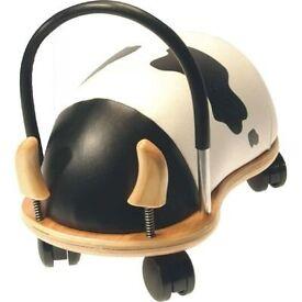 Ride on Wheely Bug Toy Cow design VGC