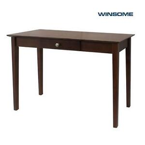 NEW WINSOME CONSOLE TABLE ROCHESTER CONSOLE TABLE WITH ONE DRAWER - ANTIQUE WALNUT FINISH 107399998