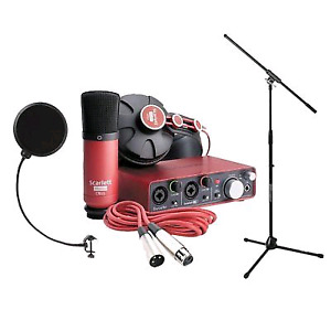Music recording all in one kit