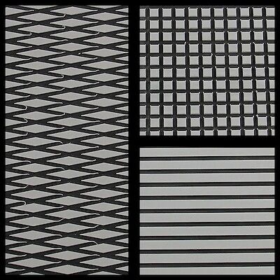 Hydro-Turf Sheet Material Cut Diamond 2Tone Light Gray on Black