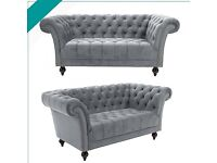 🎉👌AMAZING OFFER FOR NEW LUXURY CHESTERFIELD 3+2 SEATER SOFA SET-READY TO DELIVERY-BOOK IT NOW!!!