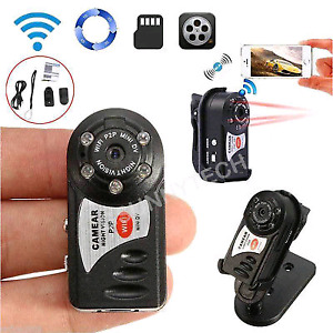 Mini HD spy camera with motion,  night vision and wifi