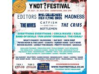 Y not festival weekend tickets