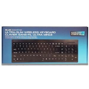 Blue Diamond - Ultra Slim - Wireless Keyboard