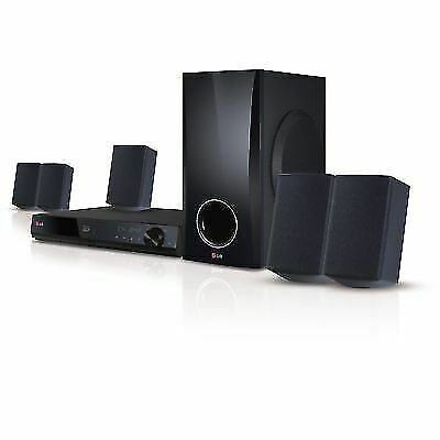 NEW LG BH5140S 3D-Capable 500-Watt 5 1-Channel Home Theater System w/  Blu-ray