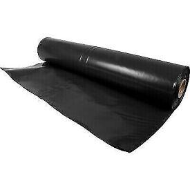Visqueen Eco Damp Course Membrane 300mu 1200gm, 4M x 25M.