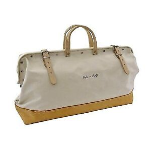 1a3309c24144 Style N Craft 97517 20 Mason s Tool Bag in Canvas top Grain Leather ...