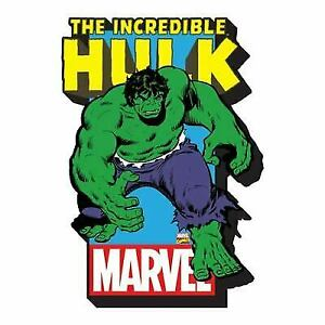 Hulk with Logo Licensed Gifts Toys 95134 NEW Magnet Marvel