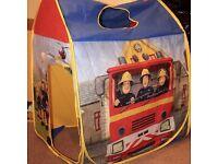 Fireman Sam Play Tent