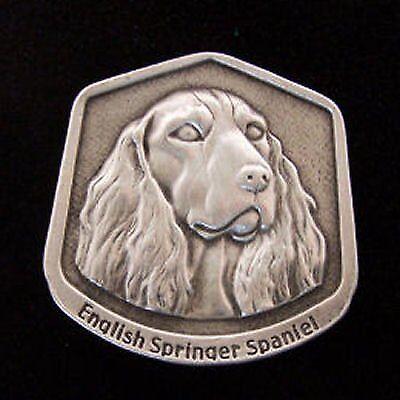 English Springer Spaniel Fine Pewter Dog Breed Ornament Dog Breeds Springer Spaniel
