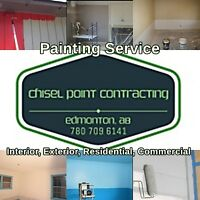 PAINTING SERVICE, RESIDENTIAL AND COMMERCIAL