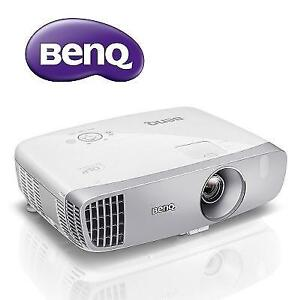 NEW BENQ DLP FULL HD PROJECTOR HT2050 202325164 GLASS CINEMA GRADE LENS RGBRGB COLOR WHEEL HOME THEATER