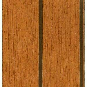 Teak & Holly Vinyl Flooring 72 Wide, Teak & Ebony Color