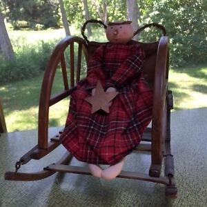 Antique Wooden Rocking Chair Cornwall Ontario image 2