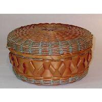 Native Splint Sewing Basket