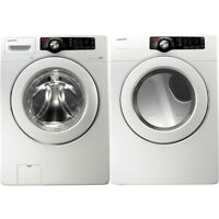 Samsung VRT frontloading washer and dryer