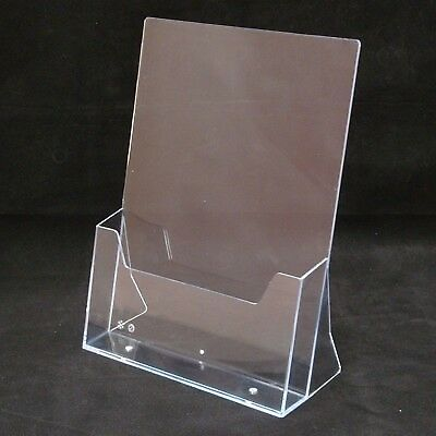 Clear perspex Leaflet Dispenser