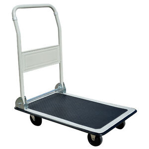 FOLDING PLATFORM DOLLY  (CART)