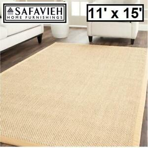 NEW SAFAVIEH 11' x 15' AREA RUG - 126087240 - LISA NATURAL FIBER RUGS CARPET CARPETS FLOORING DECOR ACCENTS MAT MATS ...