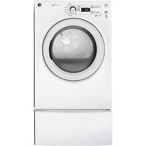 Front Load GE GAS Dryer or Washer ENERGY STAR For Sale White