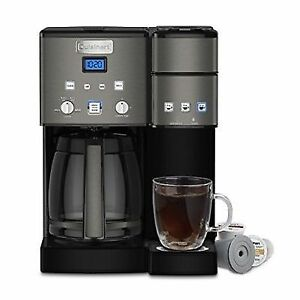 Cuisinart Coffee Center Maker, SS-15BKS, Black Stainless