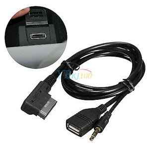 Audi music interface to usb and aux (ami -mmi)