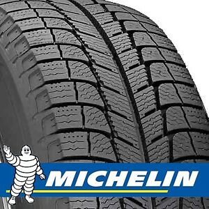 4 Winter Tires (Michelin) on Rims