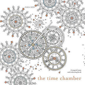 The Time Chamber: A Magical Story and Colouring Book by Daria Song (Paperback, 2