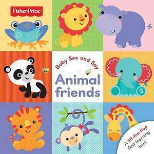 Fisher Price Baby See and Say Animal Friends-ExLibrary