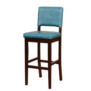 NEW HARRISON BAR STOOL WITH PADDED AEGEAN COLOR SEAT 103793893