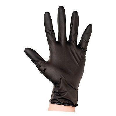 Black Latex Gloves Ebay