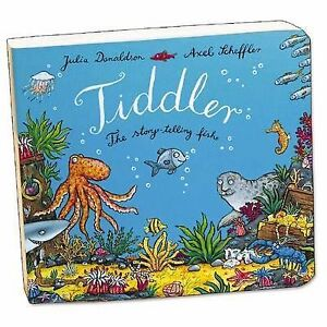 Tiddler-Board-Book-The-story-telling-fish-by-Donaldson-Julia-New-Book