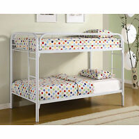 "SINGLE/SINGLE Bunk Bed ""Black or White"""