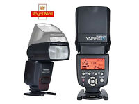 2x Yongnuo Digital SPEEDLIGHT YN560 IV + 2x Triggers + 2x Softbox + Holder