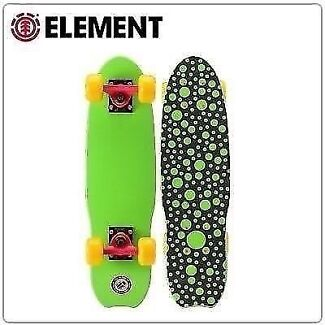 """GENUINE ELEMENT PRO CRUISER 23.125""""SKATEBOARDS BRAND NEW COMPLETE Rowville Knox Area Preview"""