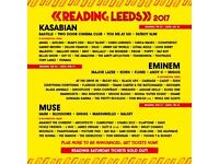 Reading weekend ticket with early bird 2017