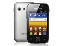 Samsung Young Y smartphone, Android, child, teen, school, unlocked, small, handy, tough