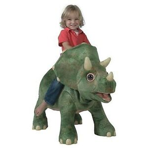 Kota Animatronic Ride On Dinosaur with FREE Giant Dinosaur Plush Toy