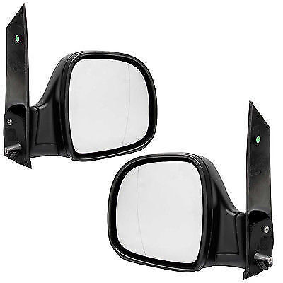 MERCEDES-BENZ VITO W638 1996-2003 NEW SIDE DOOR MANUAL MIRRORS PAIR L R