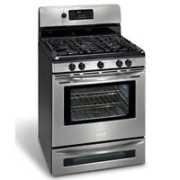 Gas Stove & Gas Dryer Install   100% Guaranteed Service.