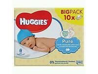 Huggies baby wipe