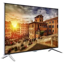 """Panasonic 48"""" 4k Ultra Hd smart tv fully loaded with 3d Wi-Fi chrome stand"""