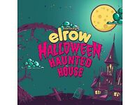 Elrow Halloween Hunted house ticket for sale.
