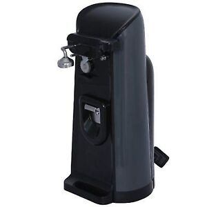 Brentwood Can Electric Opener Black Extra Tall One Touch