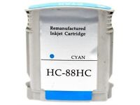 HP 88HC Compatible Cyan Ink Cartridge for HP Officejet Pro (C9391AE)
