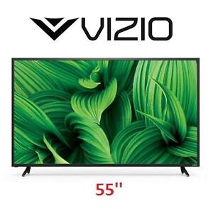 NEW OB VIZIO 55'' LED HD TV 1080p 55 INCH TELEVISION - OPEN BOX 105853458