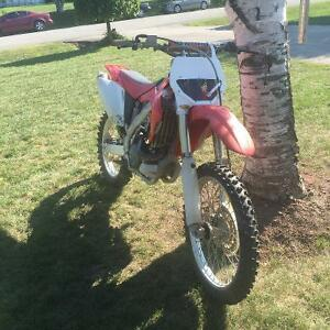 CRF450r trade for 600cc motorcycle